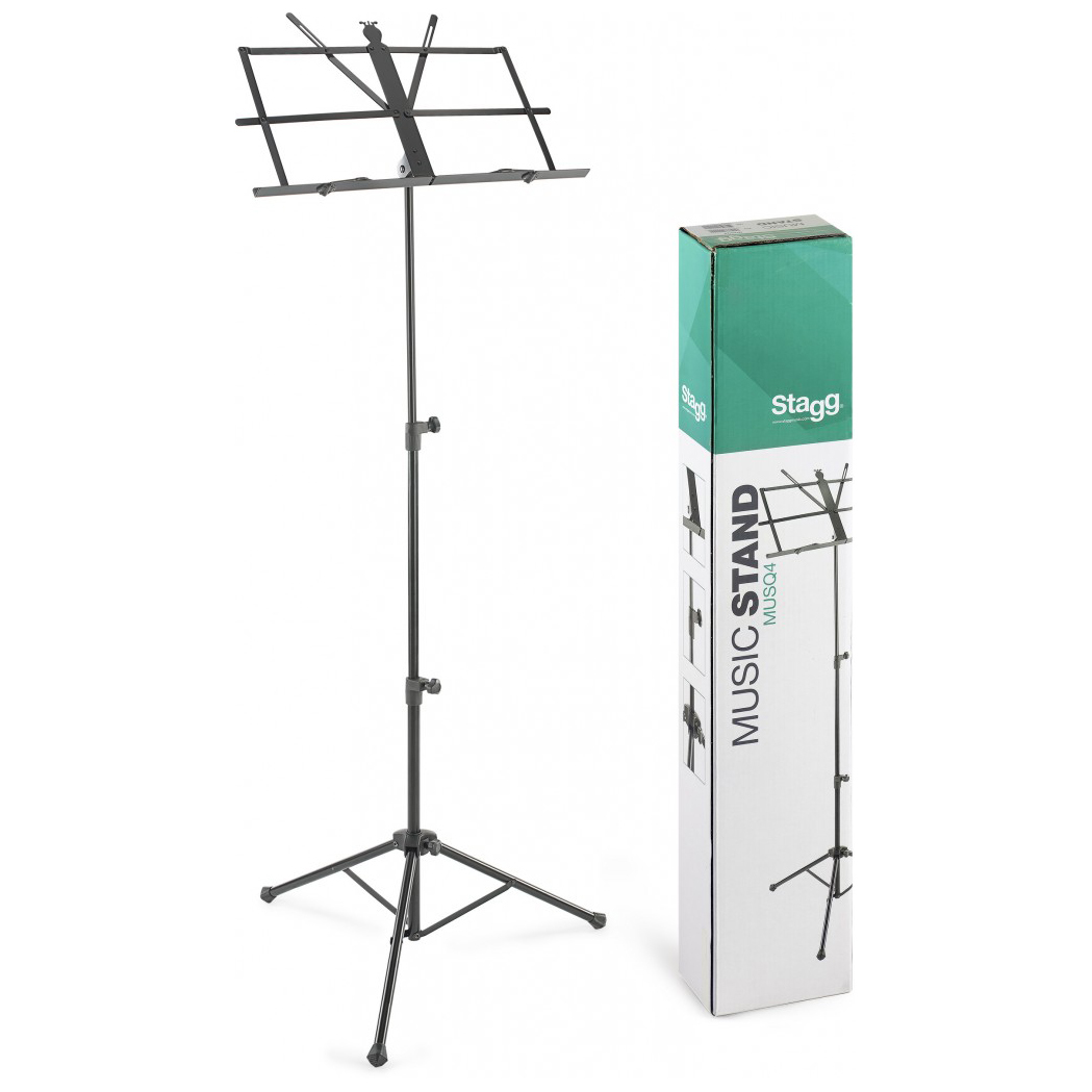 Stagg MUSQ4 Foldable Music Stand with bag