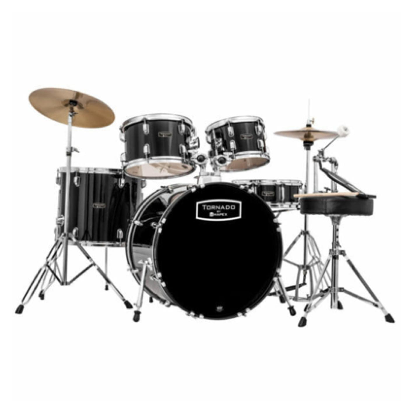 Mapex Tornado Drum Kit (Various Colours)