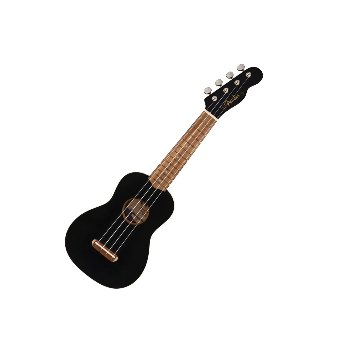 Fender Venice Soprano Uke Black
