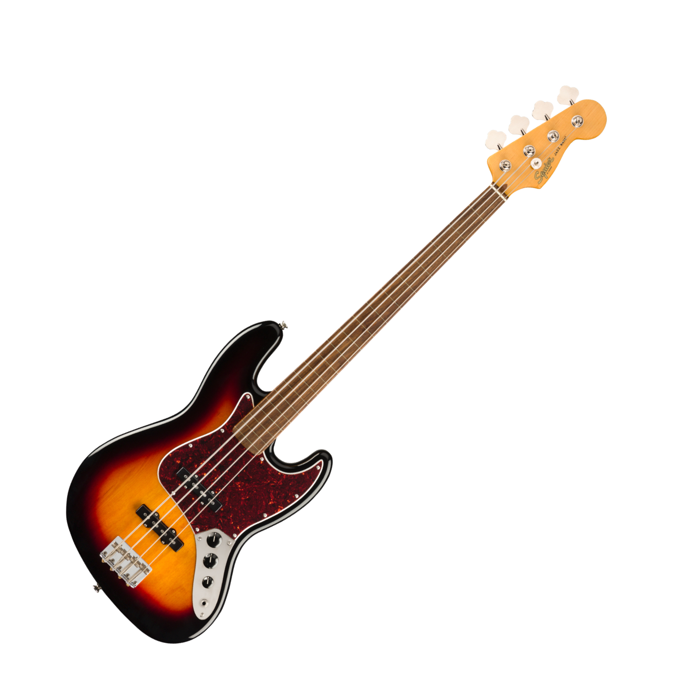 Squier Vintage Modified Fretless Jazz Bass Sunburst