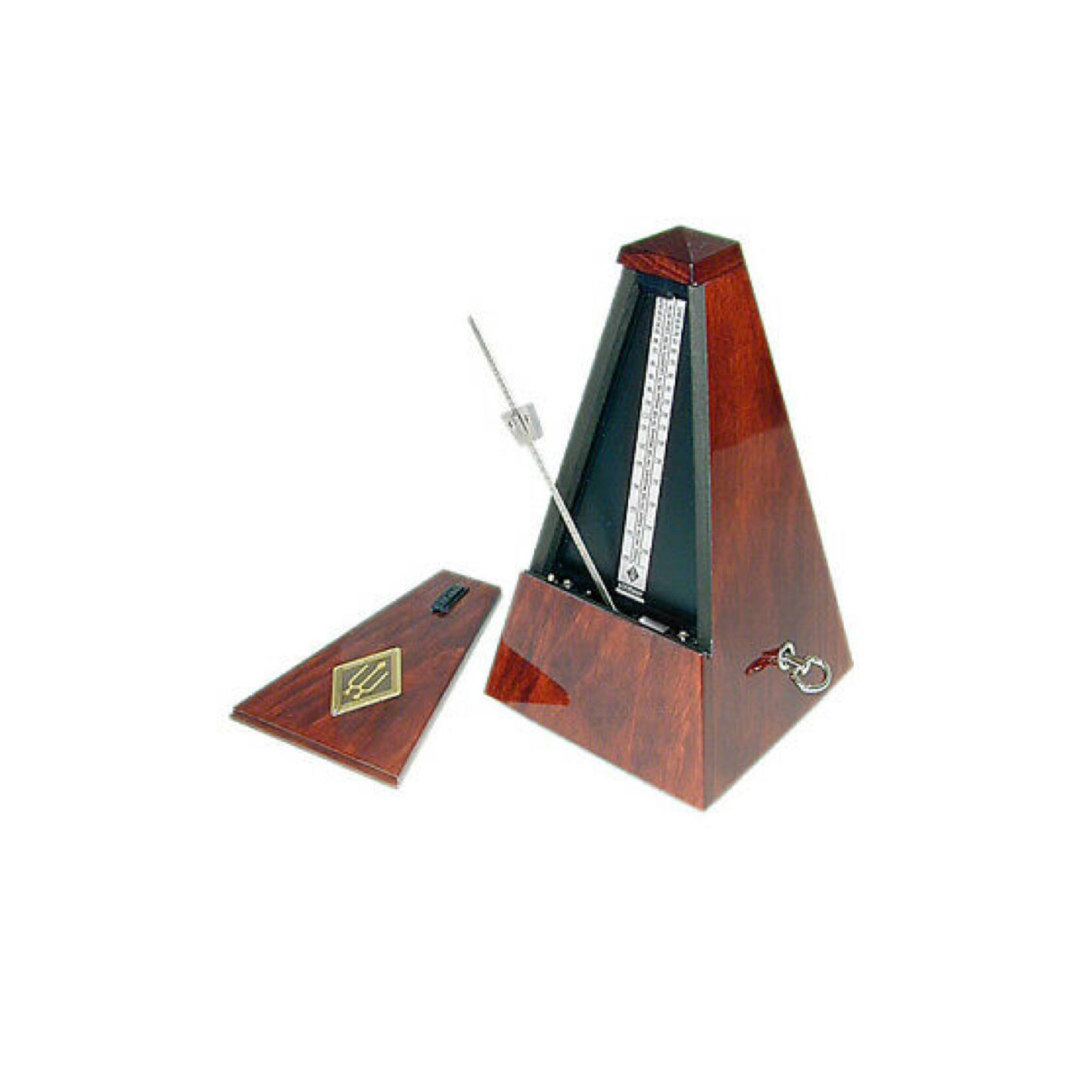 Wittner Mahaogany High Gloss No Bell Metronome 801
