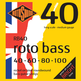Rotosound Roto Bass Roundwound Nickel on Steel Bass Strings