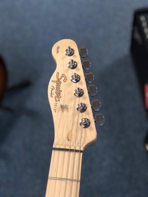 Squier Affinity Tele Left Hand Butterscotch Blonde