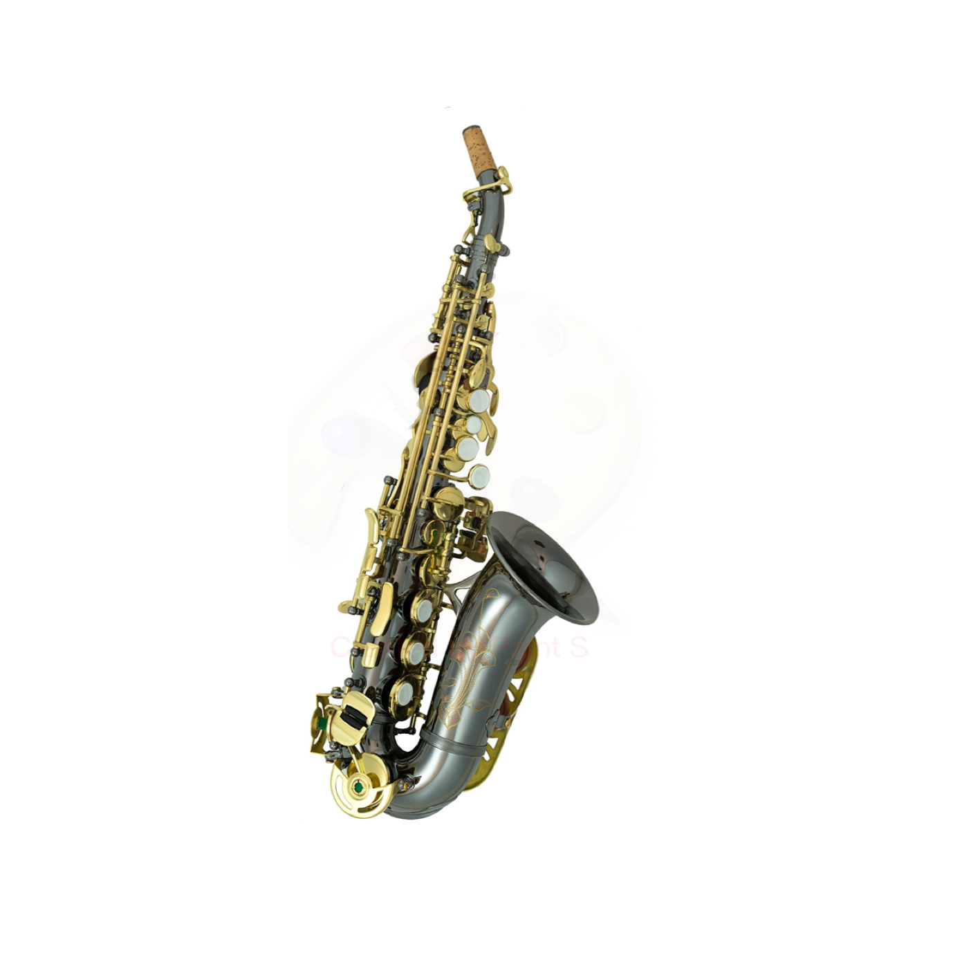 Elkhart Curved Soprano Sax Black Pearl
