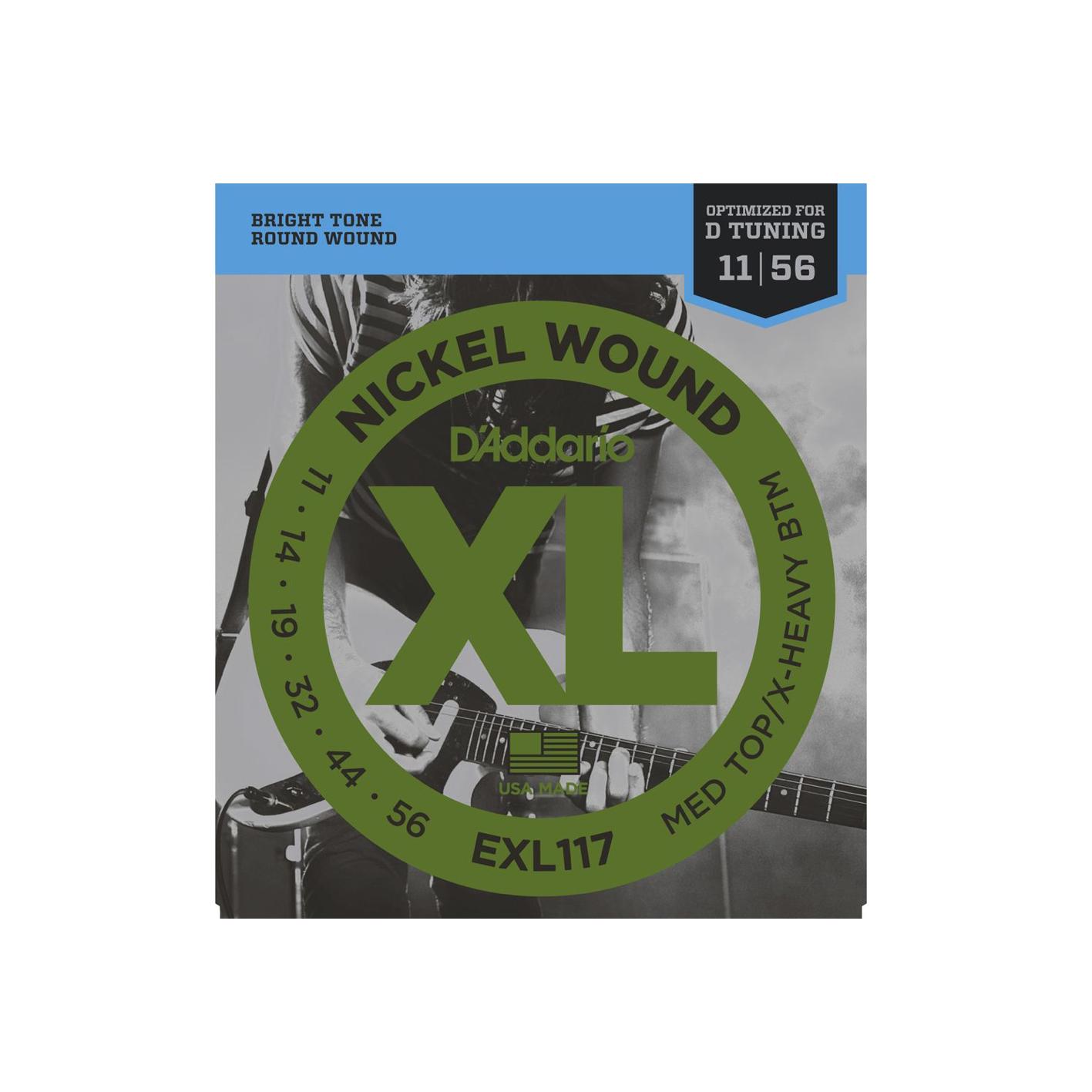 D'Addario XL Electric Guitar Strings (Various Gauges)