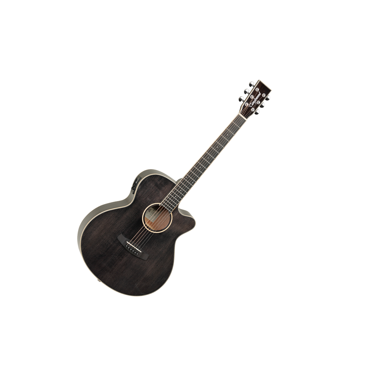 Tanglewood Winterleaf TW-4 Super Folk Black Shadow
