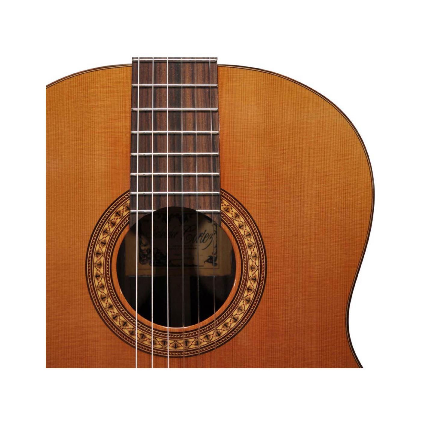 Salvador Cortez CC-60CE Electro Classical Guitar w/ Gig Bag