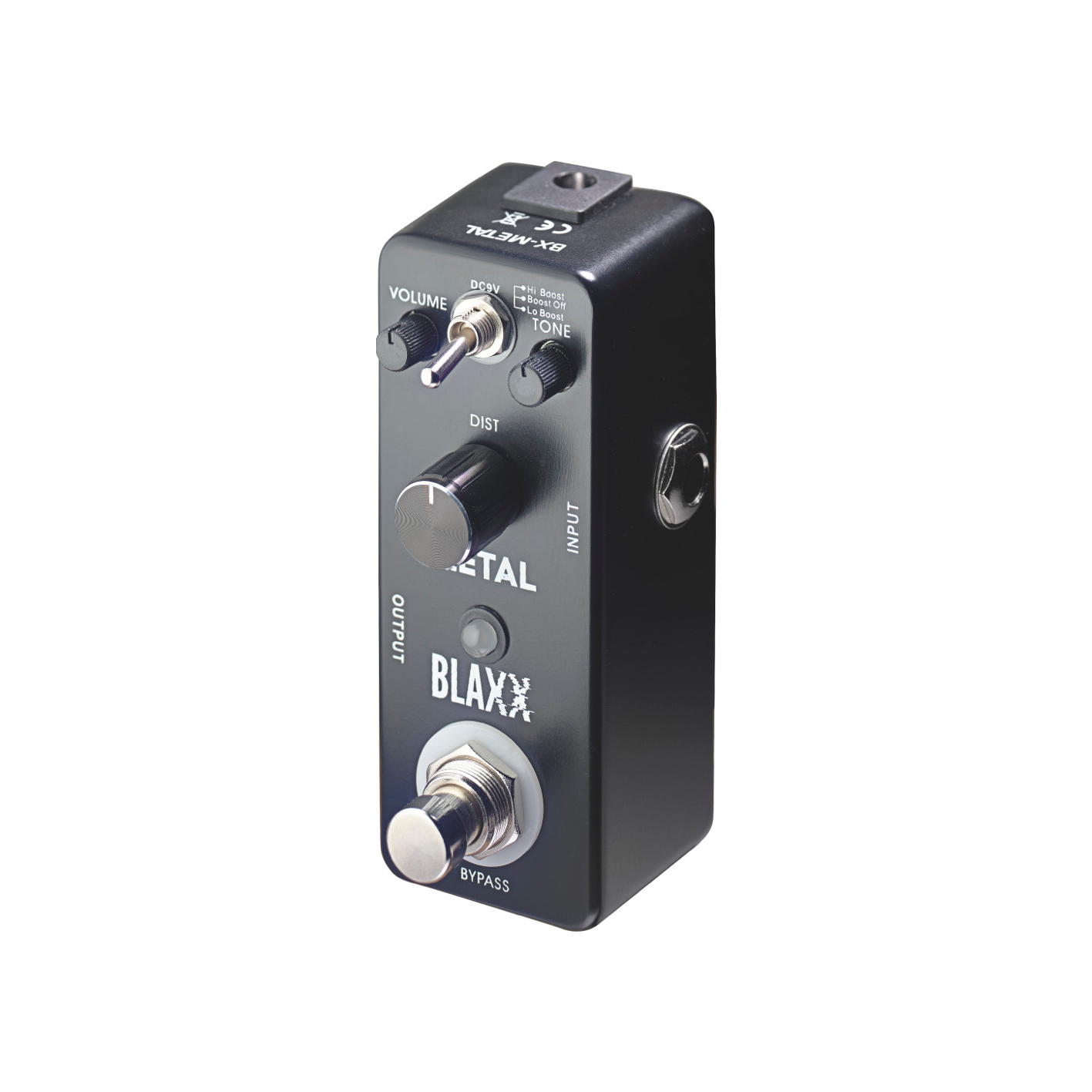 Blaxx Heavy Metal Distortion Pedal