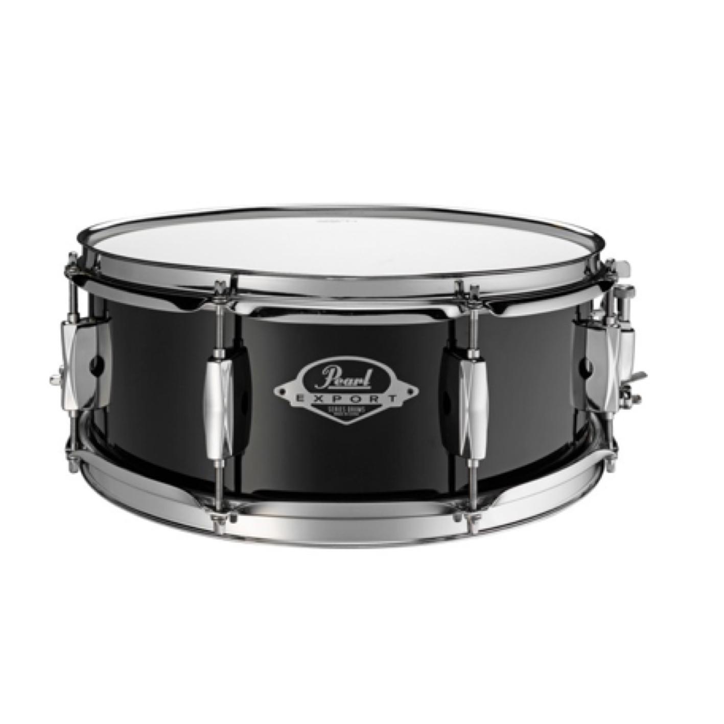 "Pearl Export 14x5.5"" Snare Drum Jet Black EXX1455s"