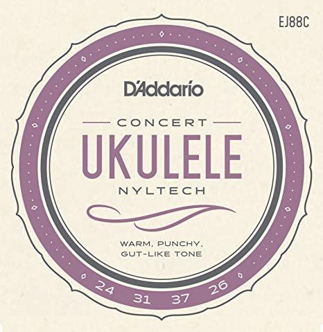 D'Addario EJ88C Concert Uke Strings