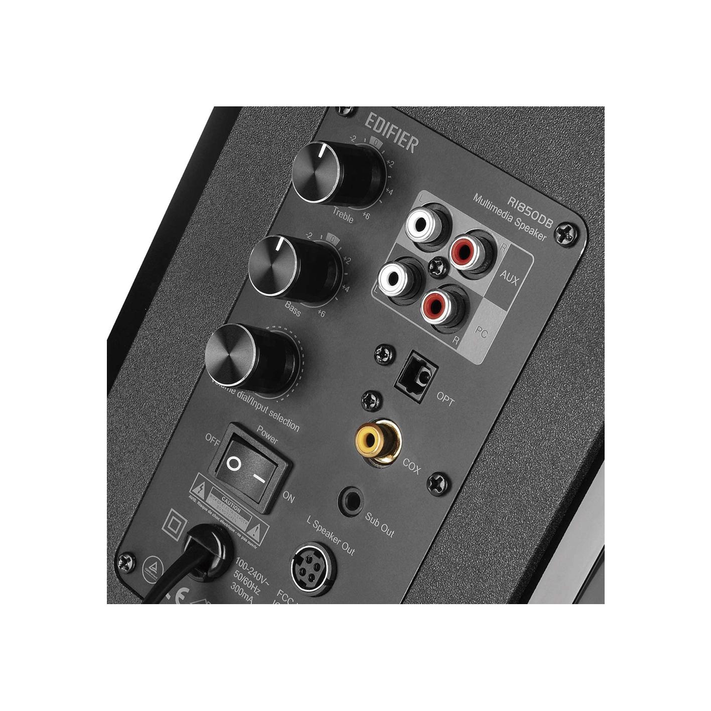 Edifier R1850DB Active Studio Monitor System Gloss Black