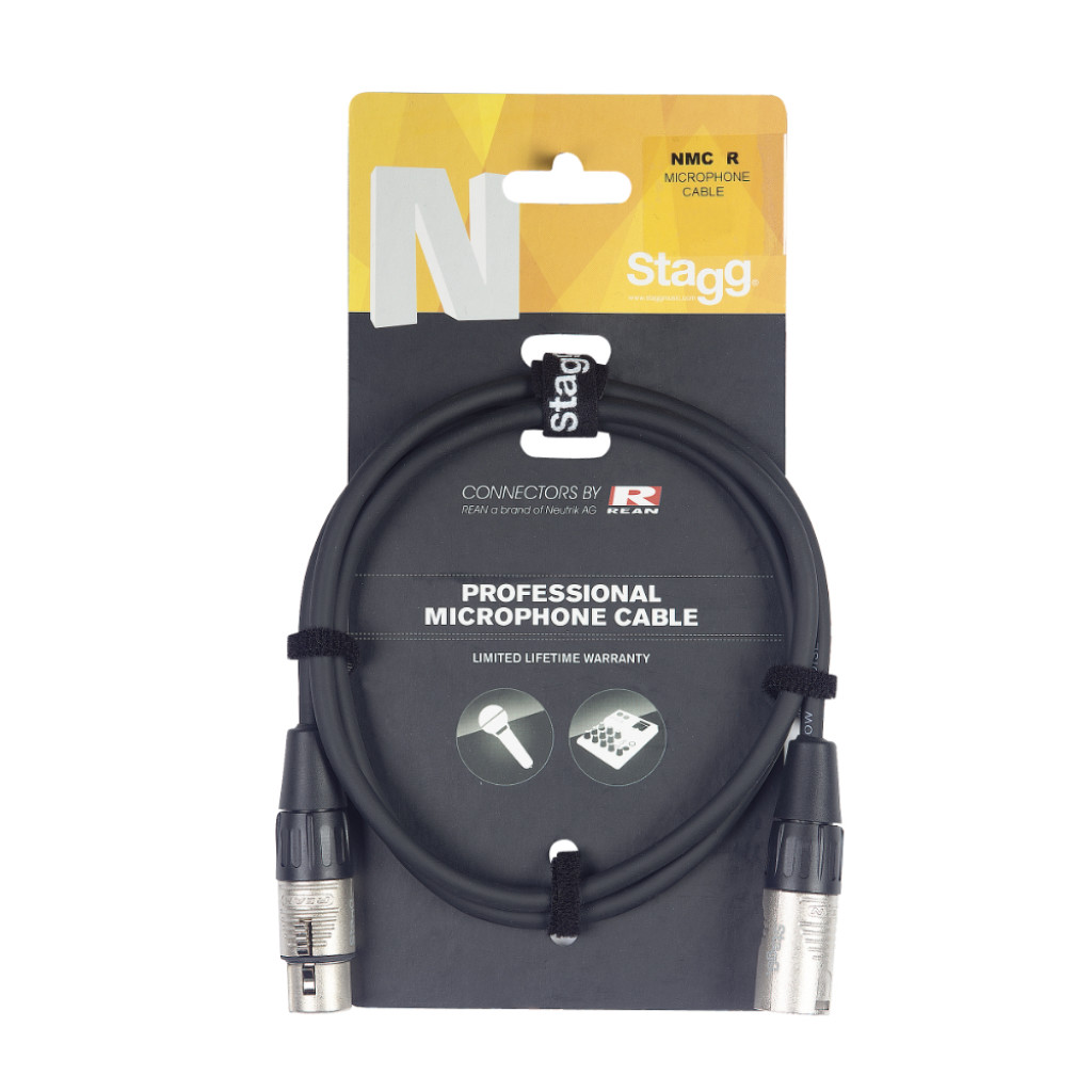 Stagg N Series XLR-XLR Mic Cable (Various Lengths)