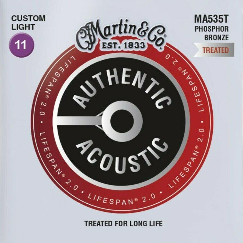 Martin Lifespan 2.0 Acoustic Guitar Strings