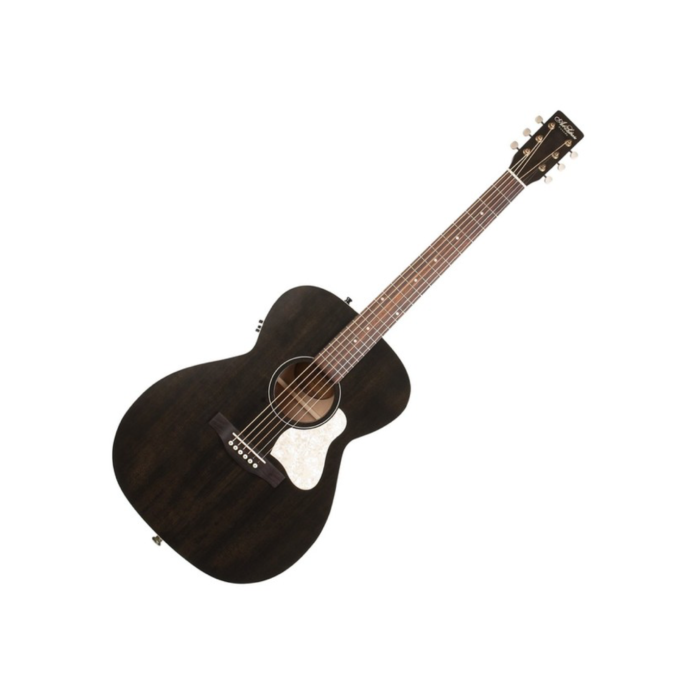 Art & Lutherie Legacy Acoustic Guitar in faded black