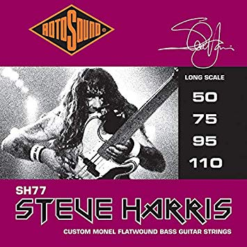 Rotosound Steve Harris bass guitar set SH77