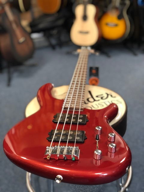 Cort Action HH4 Bass Blood Red Metallic