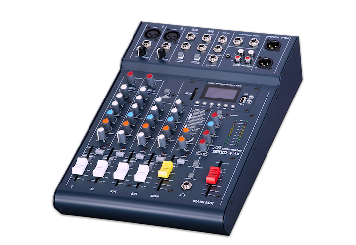 Studiomaster Club XS6 4 Channel Mixer