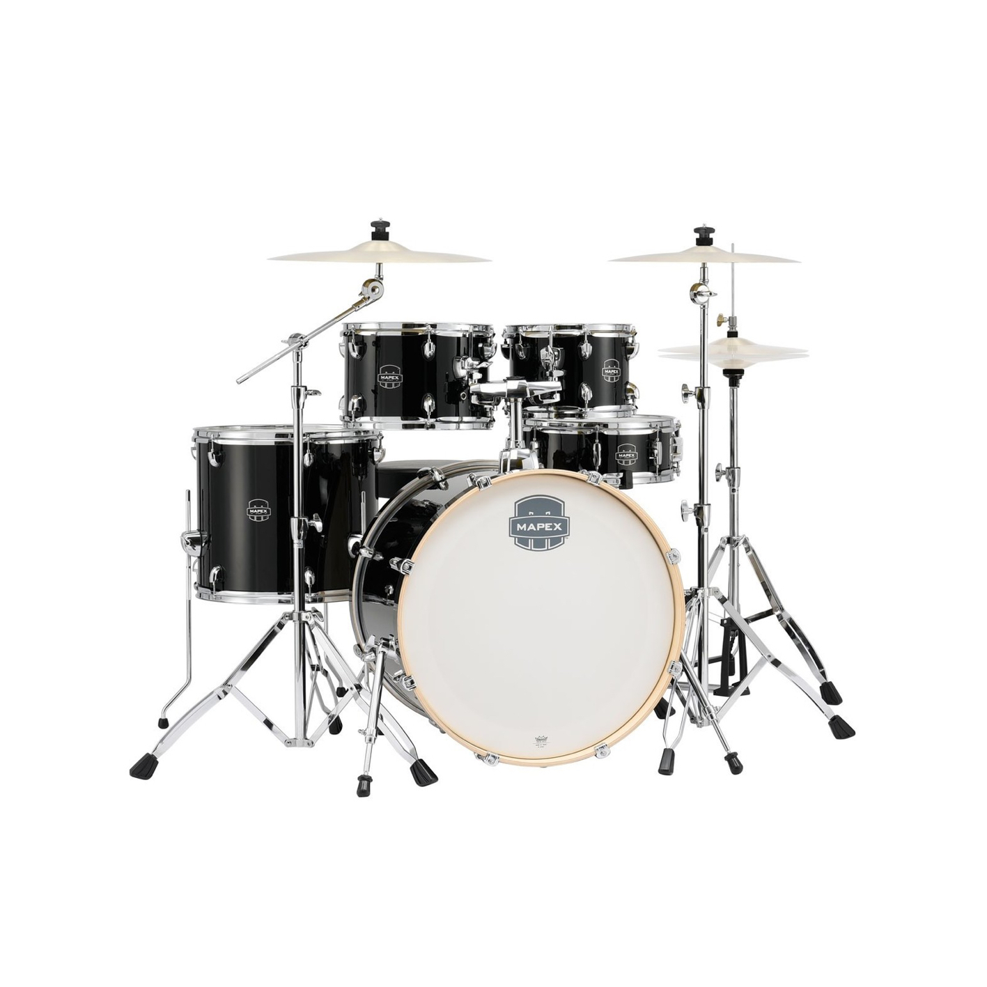 Mapex Storm Special Edition Deep Black w/ Hardware & Paiste 101 Cymbals