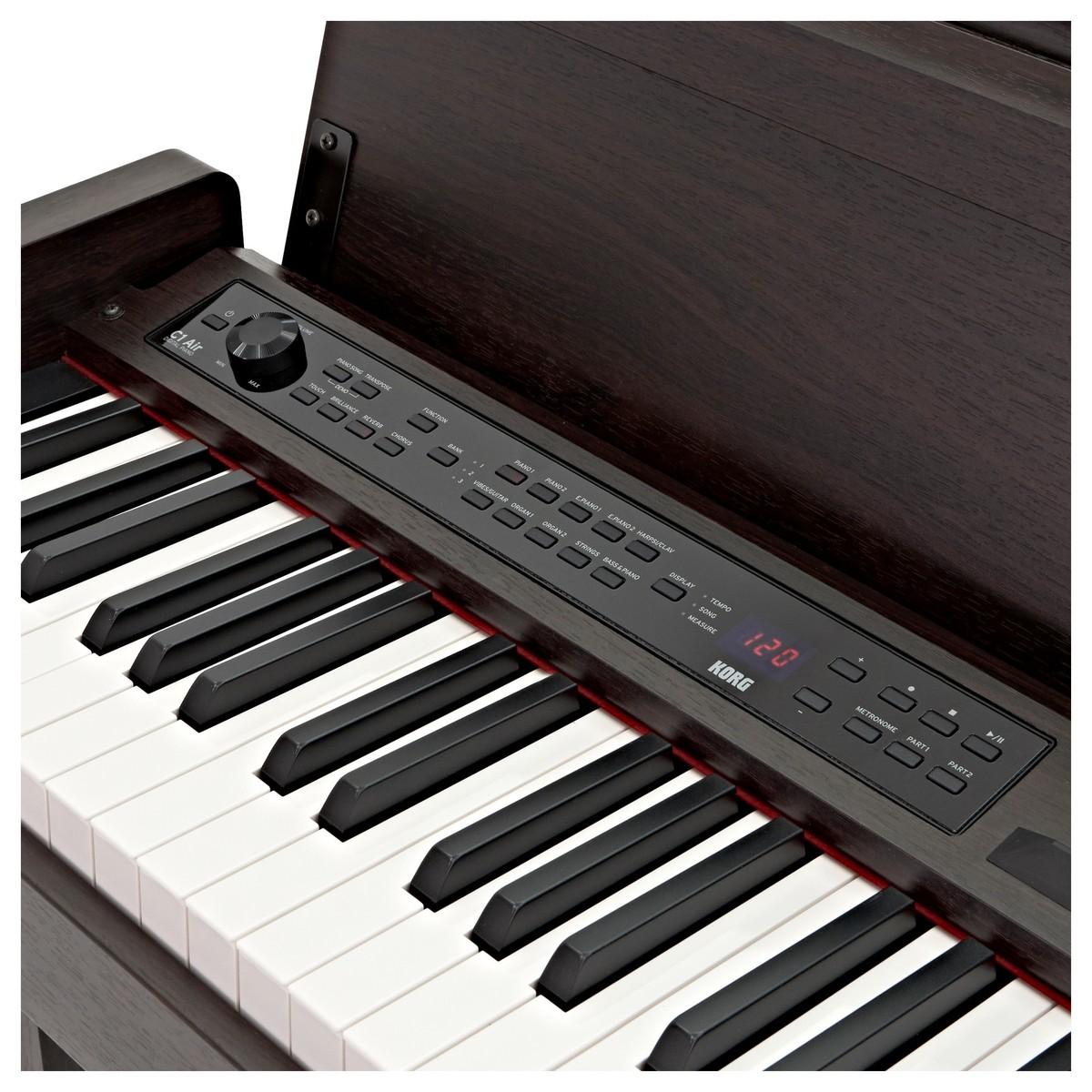 Korg C1 Air Digital Piano Brown Rosewood