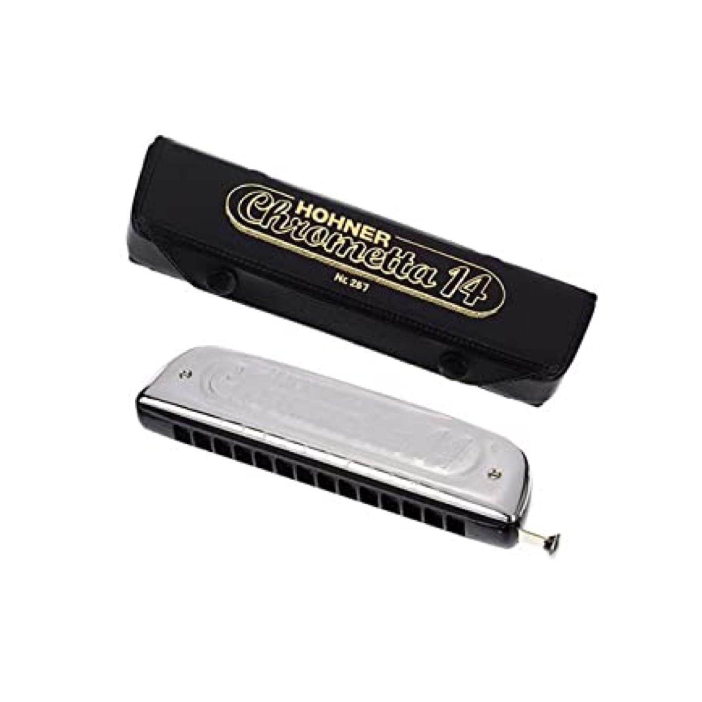 Hohner Chrometta 14 C harmonica