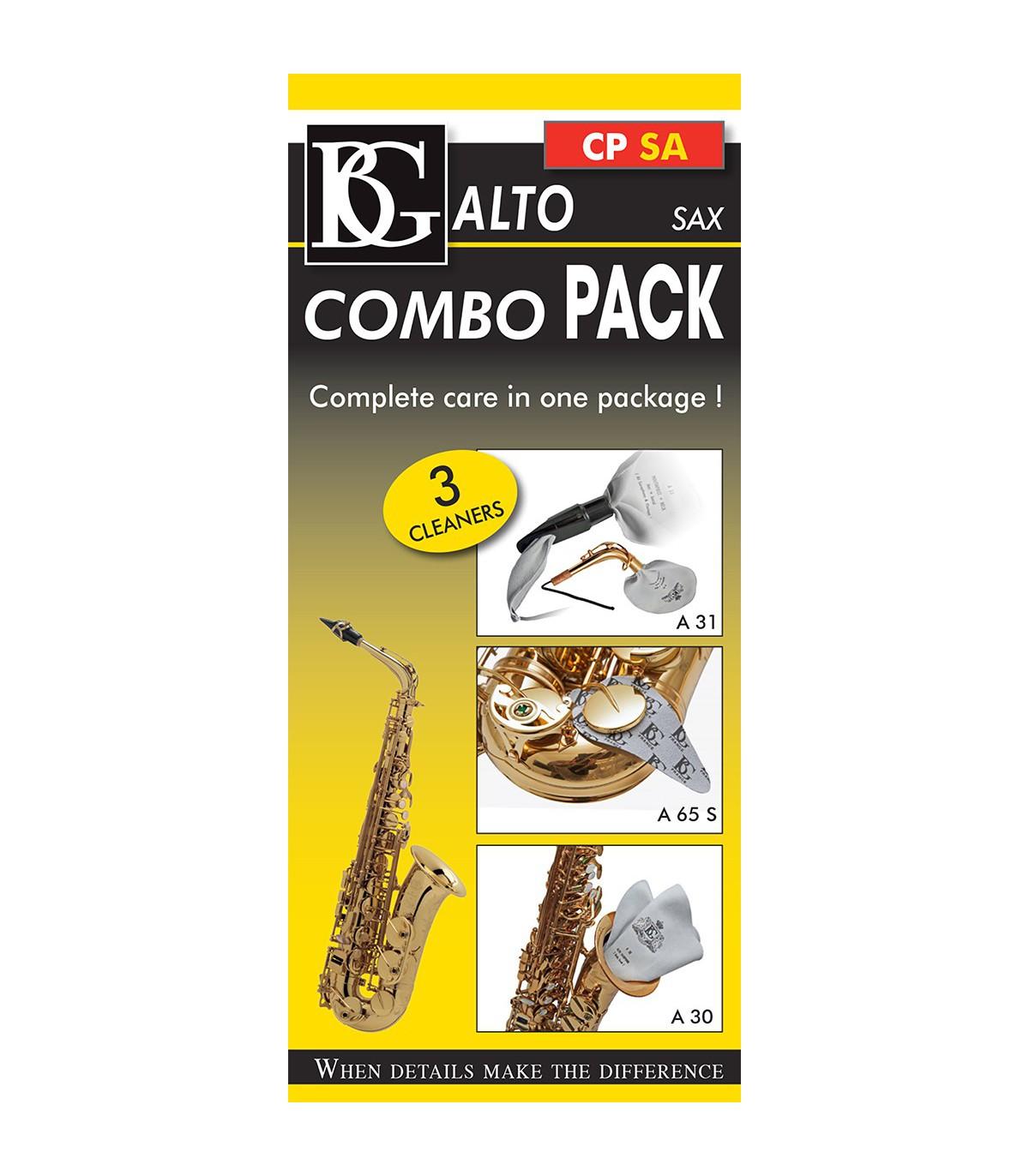 BG CP SA Alto Sax Combo Pack