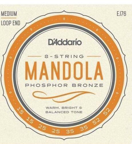 D'Addario EJ76 Mandola Medium Strings Set