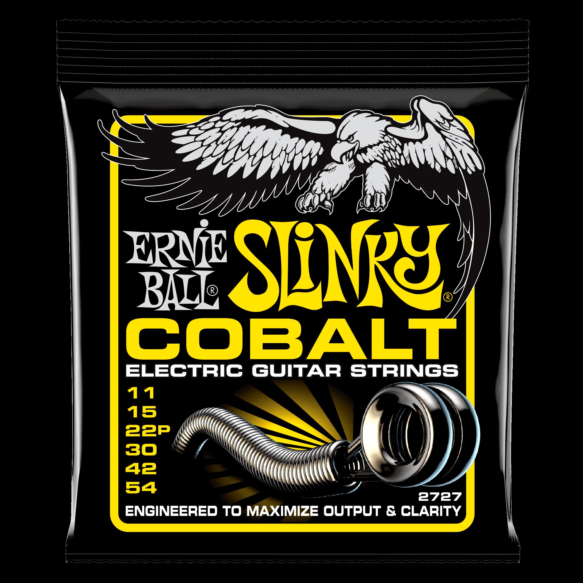 Ernie Ball Cobalt Slinky Electric Guitar Strings