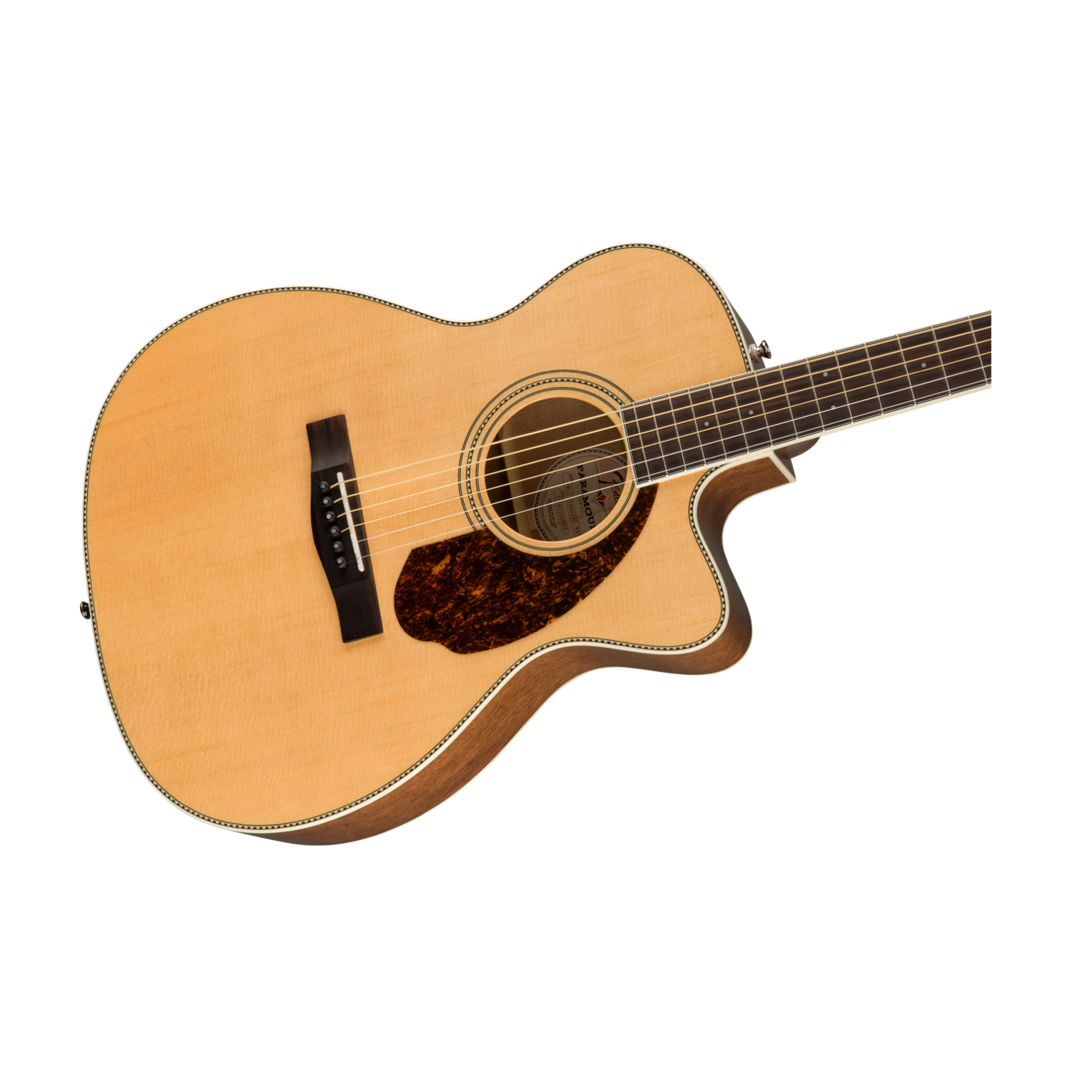 Fender Paramount PM-3CE Electro Natural W/Case