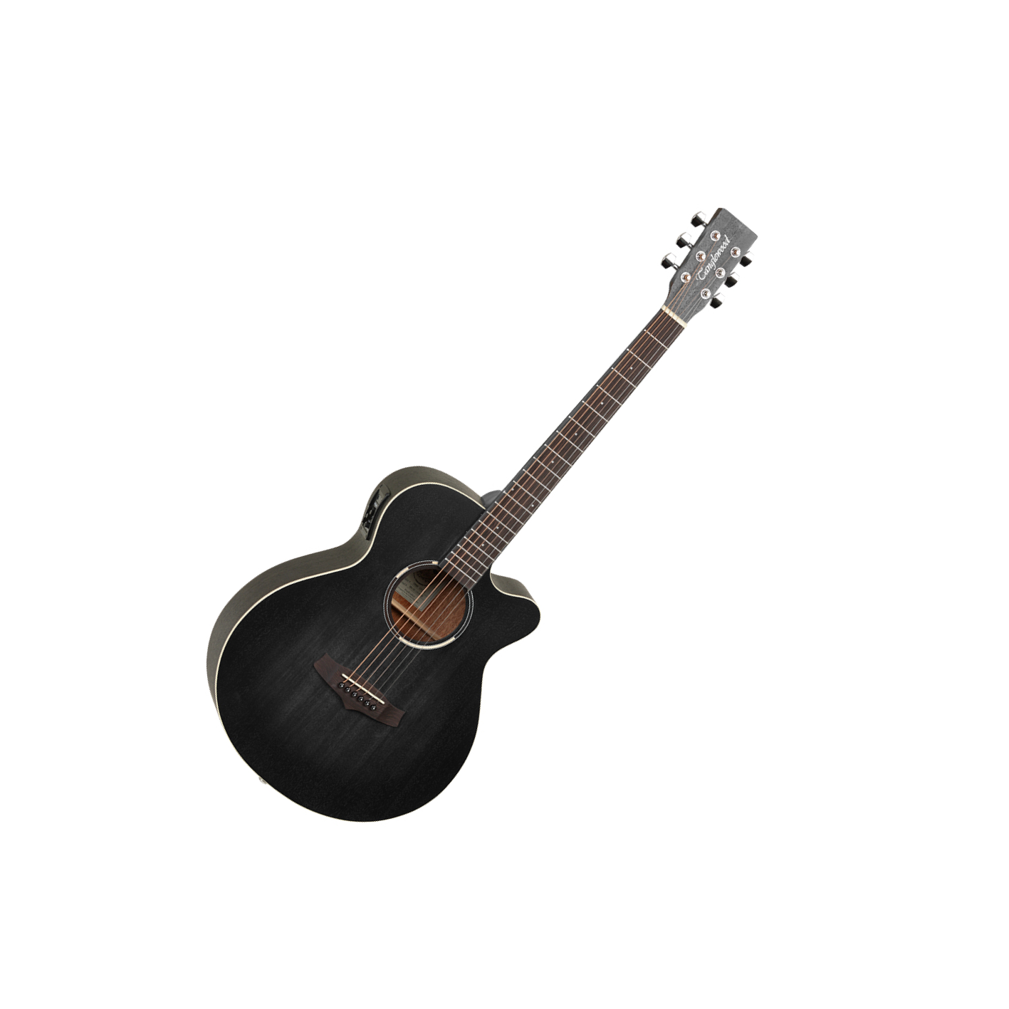 Tanglewood Blackbird Super Folk Electro Black TWBB-SFCE