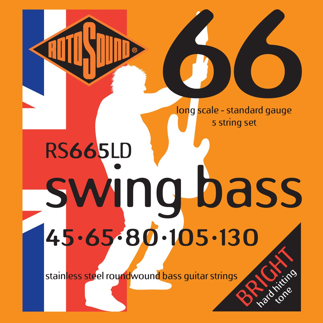 Rotosound RS665LD Standard5 String Set