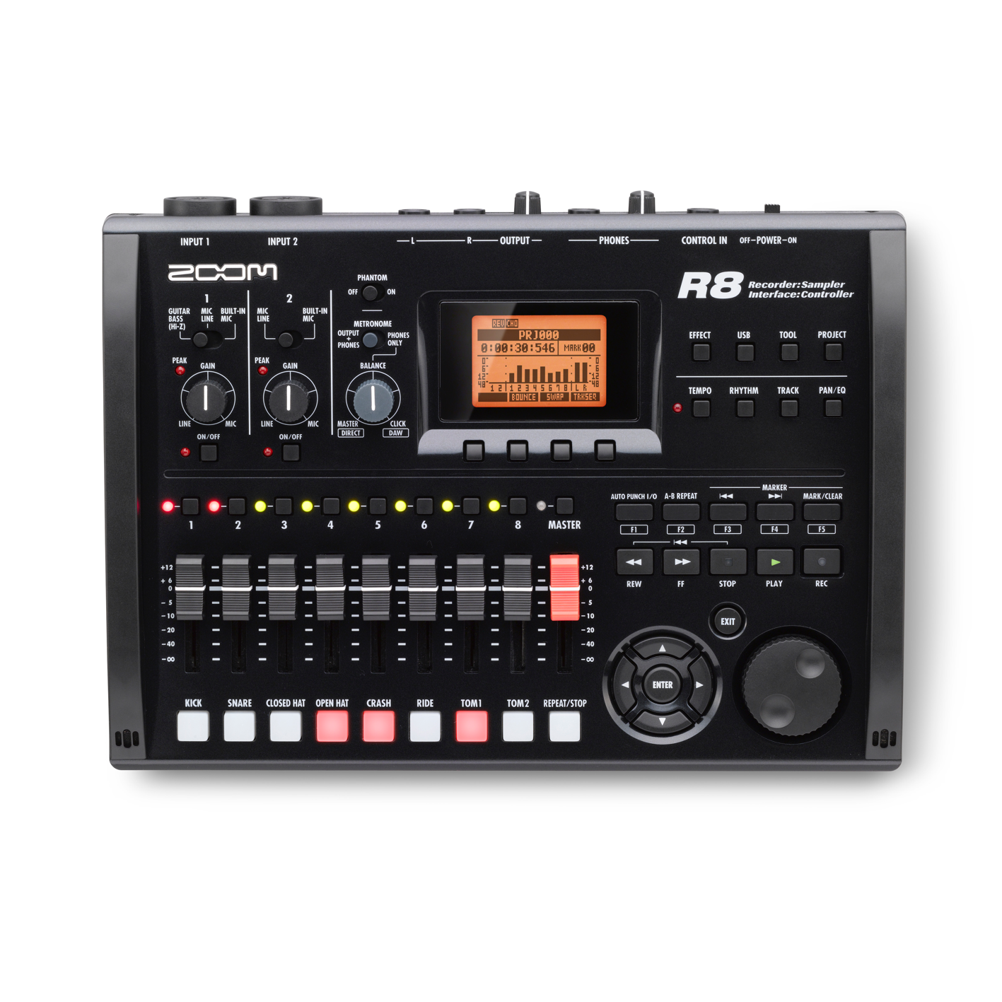 Zoom R8 8-Track Recorder
