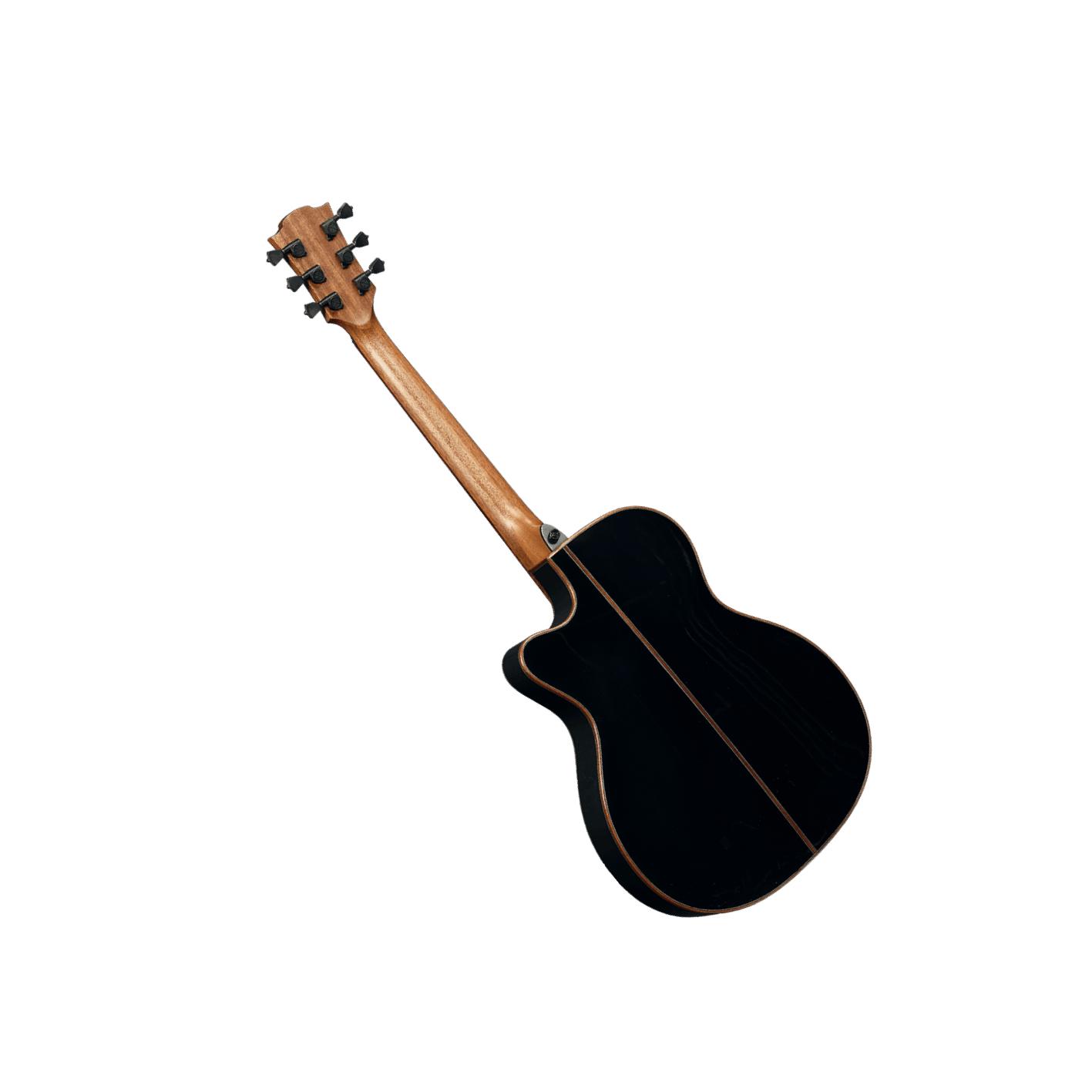 Lag Tramontaine T118ASCE Slim Body Black Gloss