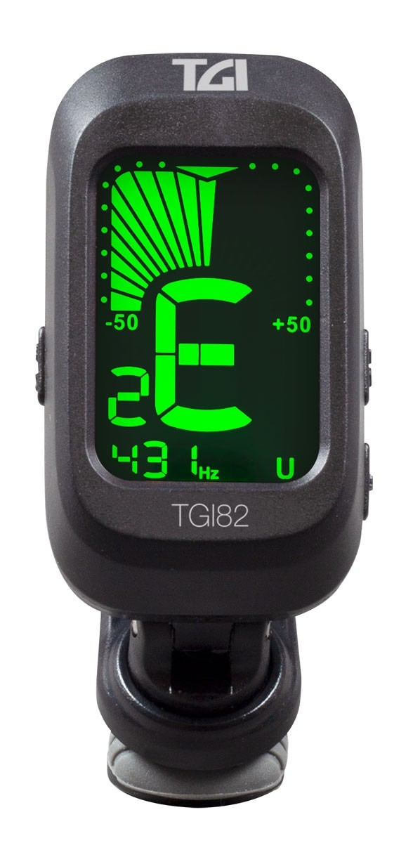 TGI Digital Clip-on Chromatic Tuner TGI82