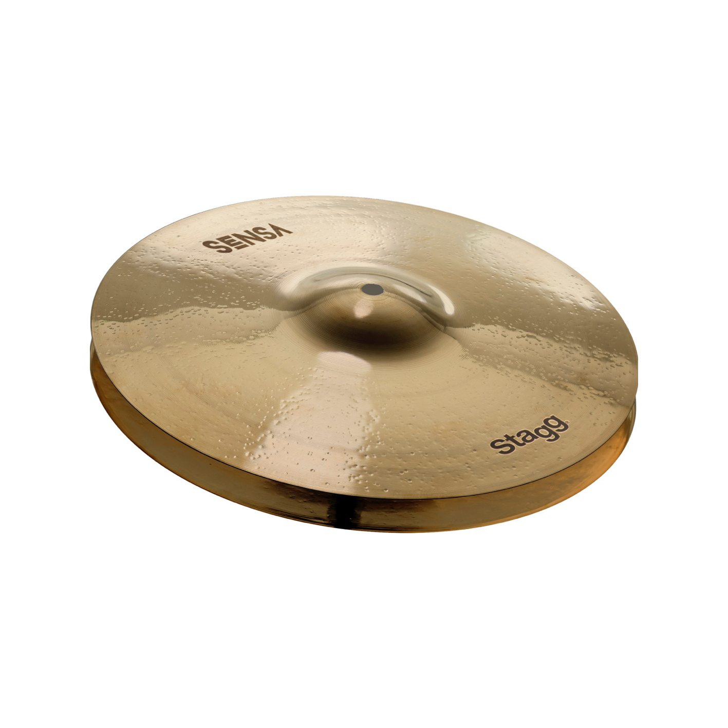 "Stagg Sensa 14"" medium hi-hat cymbals"