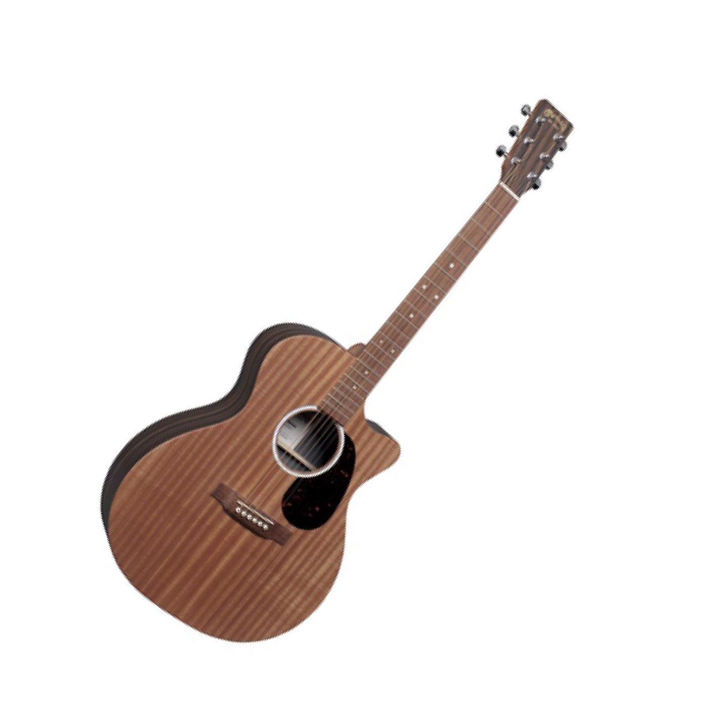 Martin GPCX2AE Macassar Sapele Electro-Acoustic Guitar