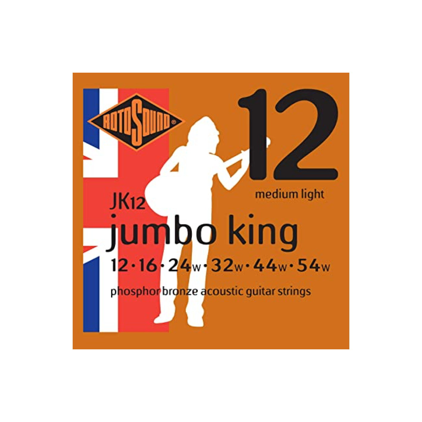 Rotosound Jumbo King Phosphor Bronze Acoustic Strings