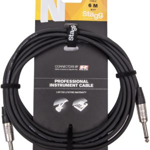 Stagg N Series Pro Instrument Cable (Various Lengths)