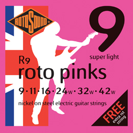Rotosound Roto Nickel on Steel Electric Guitar Strings