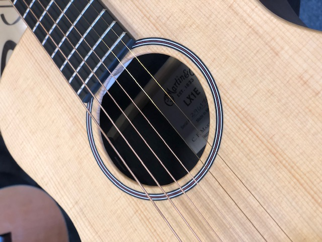 Martin LX1E X Series 'Little Martin' Electro Acoustic with gigbag