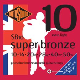 Rotosound Super Bronze Acoustic Guitar Strings