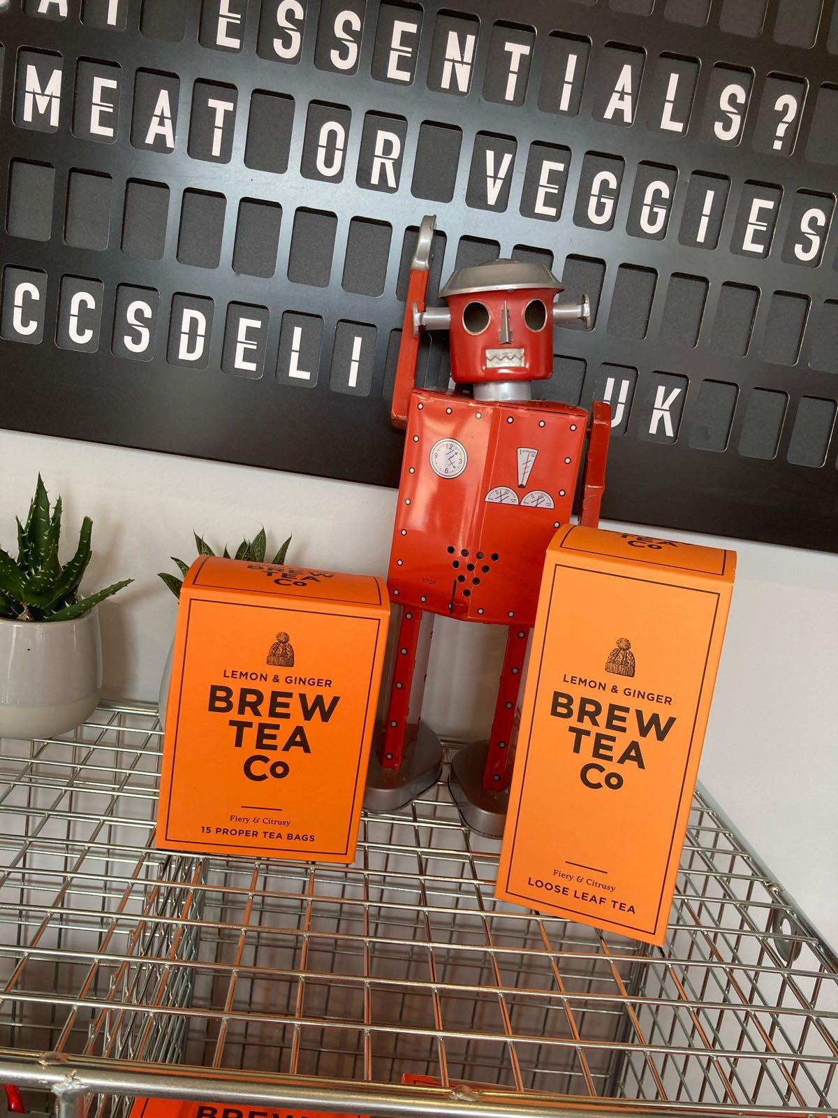 Brew Tea Co Lemon & Ginger - 15 Bags