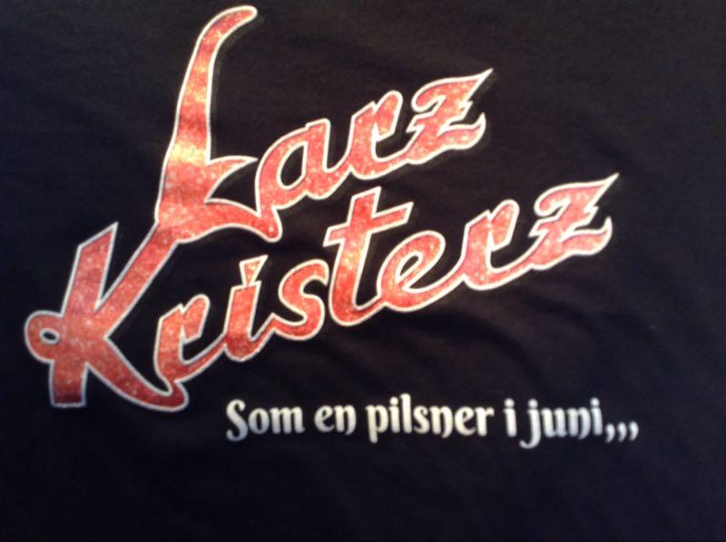T-shirt Pilsner Svart