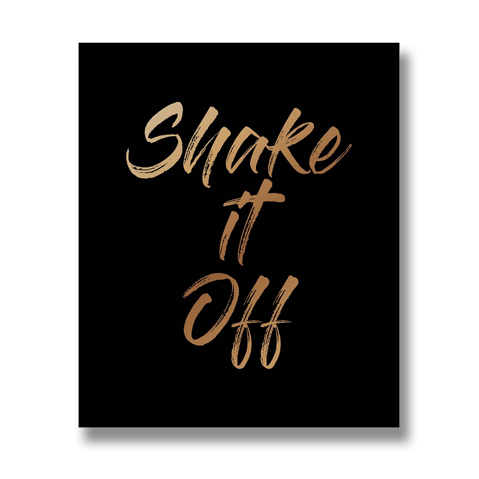 Shake it off wall plaque