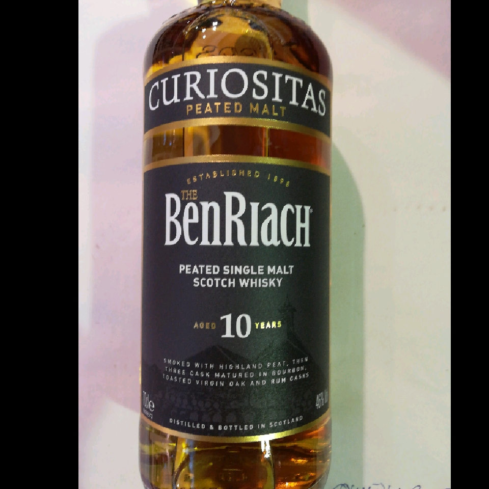 BenRiach 10 års Peated Single Malt Scotch Whisky