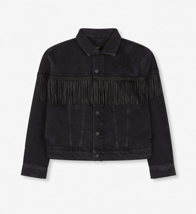 ALIX The Label - Denim Jacket Fringe