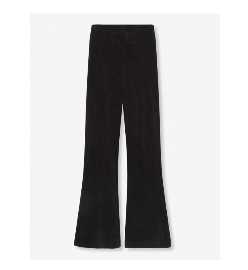 Alex the Label - Rib Velvet Flared pants