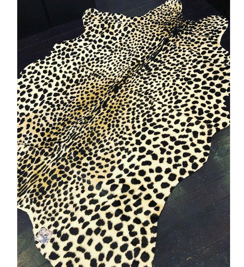 Skinnwille - Fuskskinn Leopard