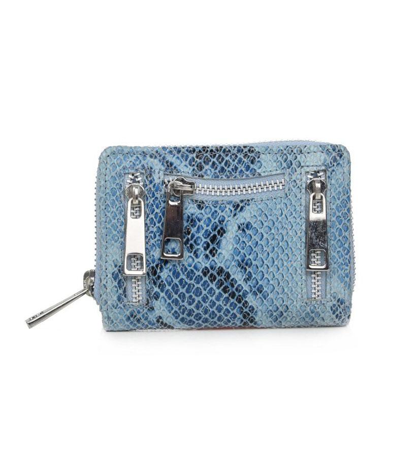Nunoo - Snake Wallet Blue
