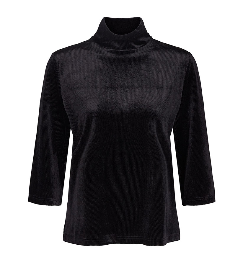 Co´couture - Velvet Groove Blouse Black