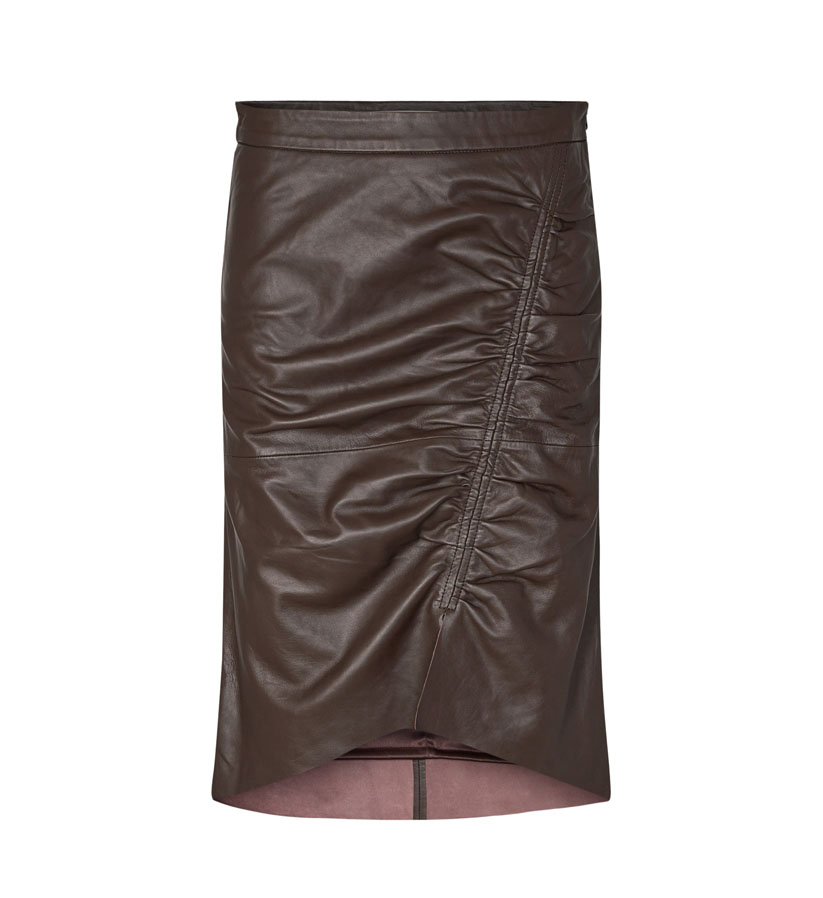Co´couture - Harvie Leather Skirt